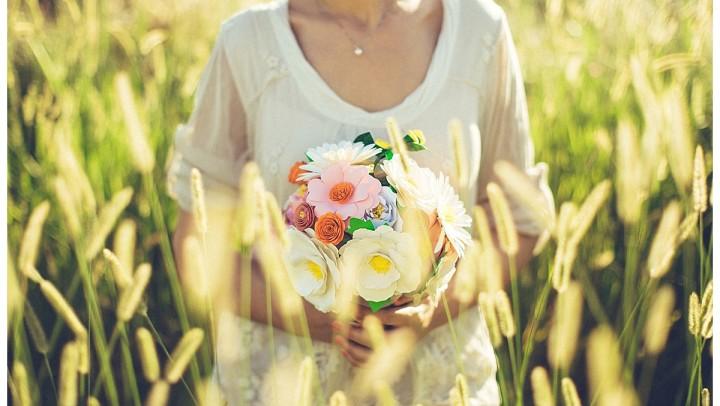 Bouquet alternativo, per spose unusual.