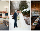 Il fascino del matrimonio invernale
