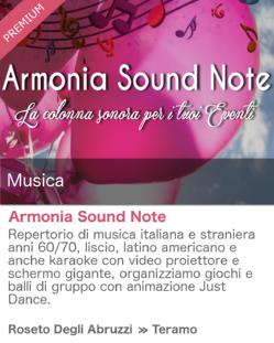 Armonia Sound Note